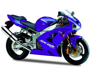 Kawasaki ZX-6R 2003 - 2004 (600 a 636)