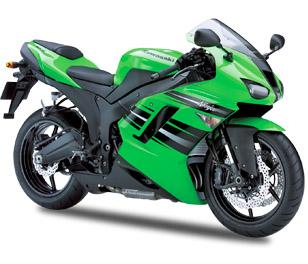 Kawasaki ZX-6R 2007 - 2008