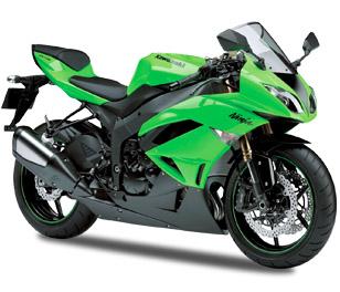 Kawasaki ZX-6R 2009 - 2012